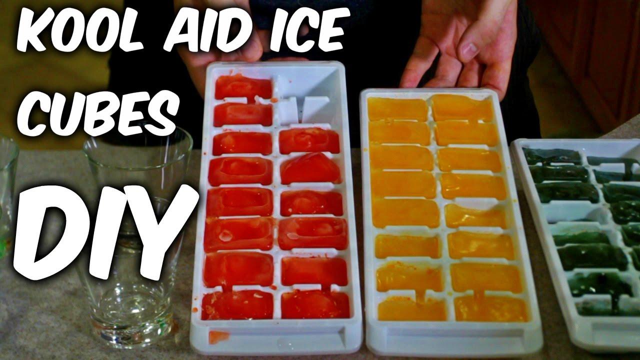 Diy Kool Aid Party Ice Cubes Youtube