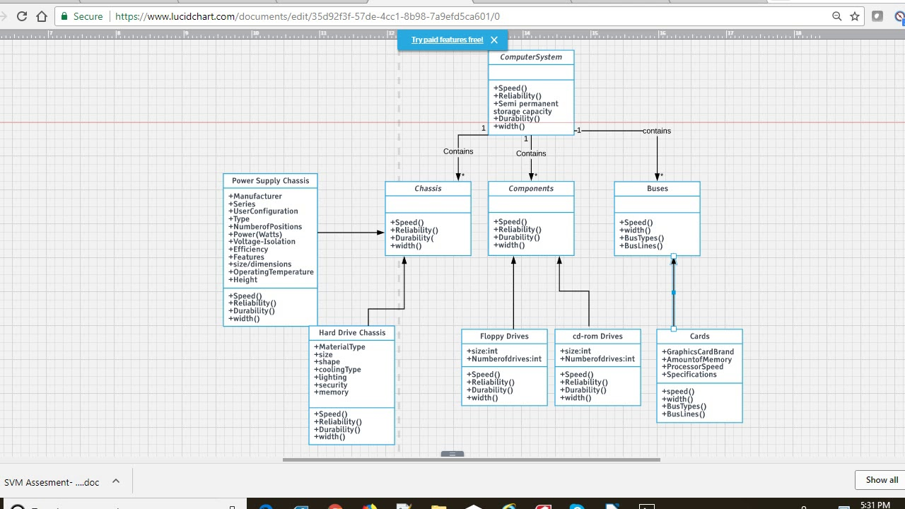 software engineering a9 q5uml class diagram for computer system architecture design [ 1280 x 720 Pixel ]