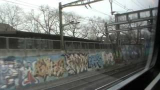 Eisenbahnfahrt von Basel nach Luzern