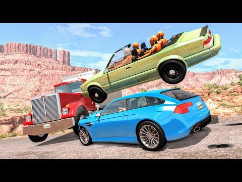 Huge Pile Ups #1 – BeamNG Drive Crashes | CrashBoomPunk