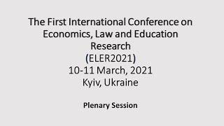 ELER2021. Plenary Session