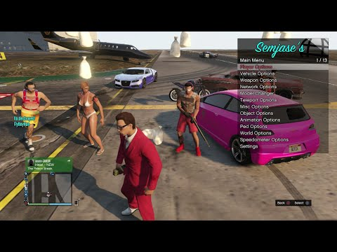 Semjases 1 3 [CEX/DEX/1 26] GTA5 Mod Menu SPRX!! +Key