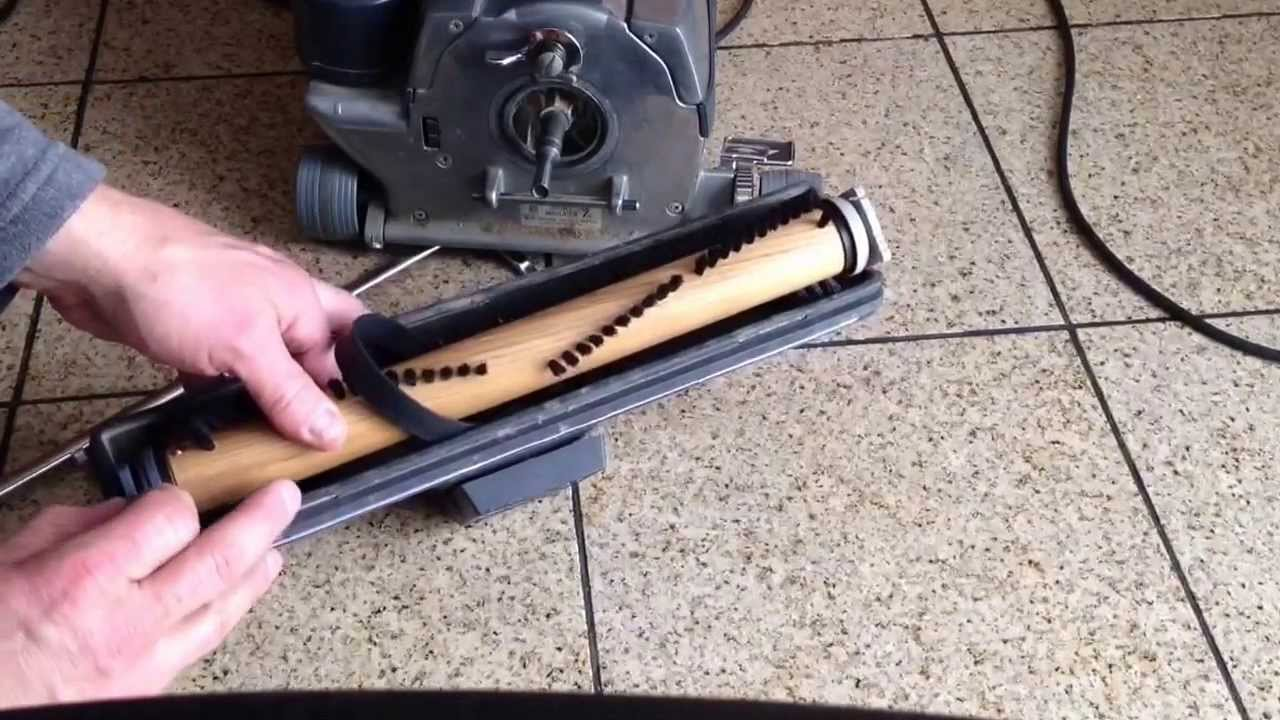 Replacing The Roller Brush On A Kirby G4 Vacuum Youtube