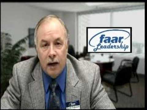 David Taljonick, 2007 FAAR President - Flint, MI