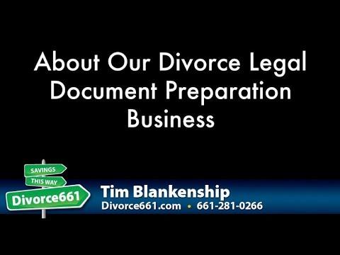 Los Angeles Divorce About Our Divorce Document Preparation Service - Legal document preparation business