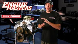 homepage tile video photo for Junk Engine Rebuilds!   Engine Masters   MotorTrend