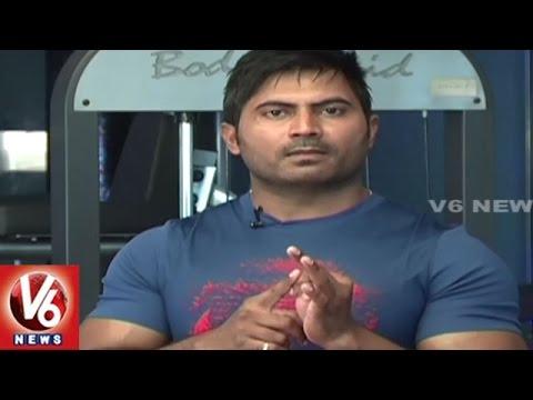 Fit Center | Trainer Venkat Fitness Tips | Exercises For Weight Loss | V6 News