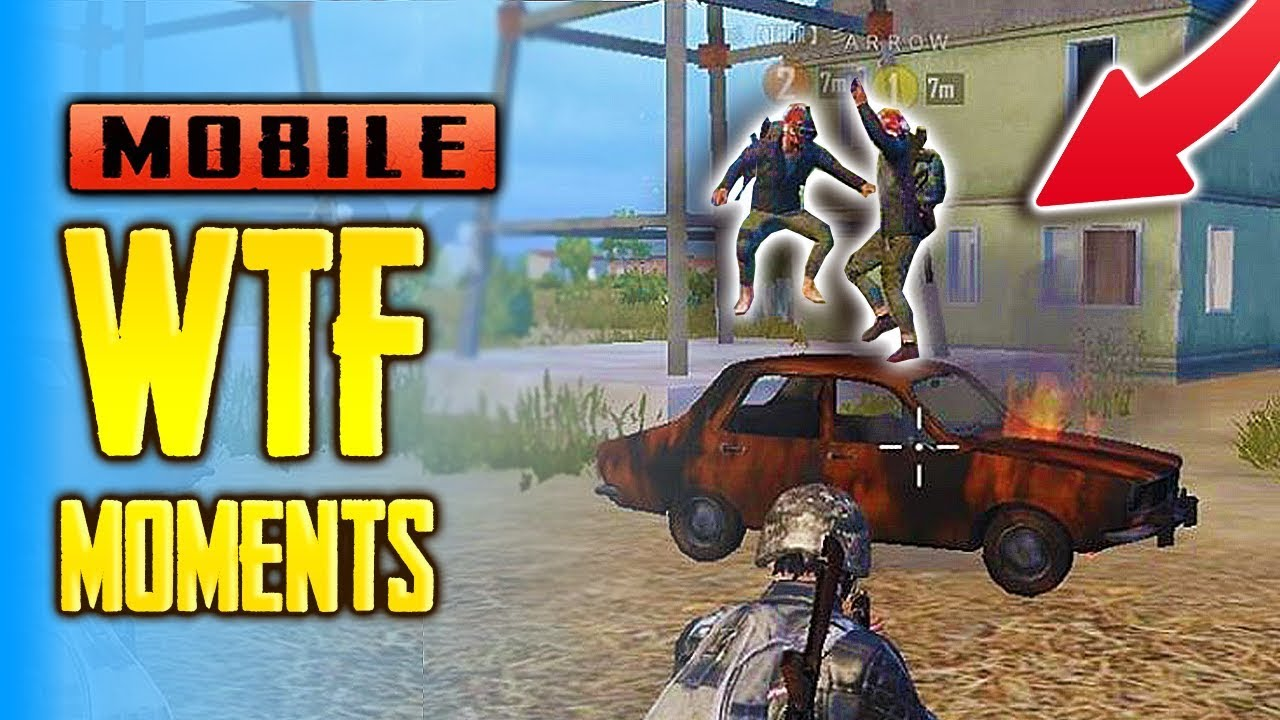 PUBG Mobile FUNNY And WTF Moments, Glitches, 200 IQ, Fails  #12