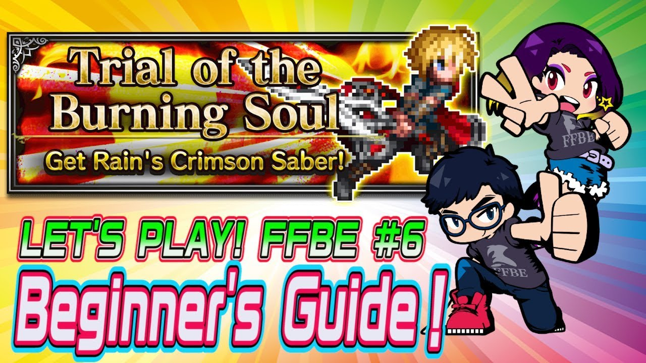 FFBE】Let's Play FFBE! #6 –Beginner's Guide–Training the