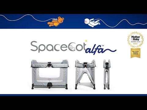 SpaceCot Alfa Travel Cot Store Demo - Direct2Mum