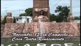 Gambar cover Paloma Sandoval, candidata a Linda Campechana 2014. Segundo vídeo.