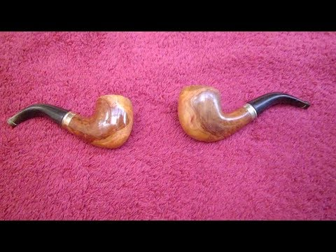 Making A Wooden Smoking Pipe Step By Step