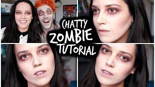 ZOMBIE Halloween Tutorial | velvetgh0st ♡ Thumbnail