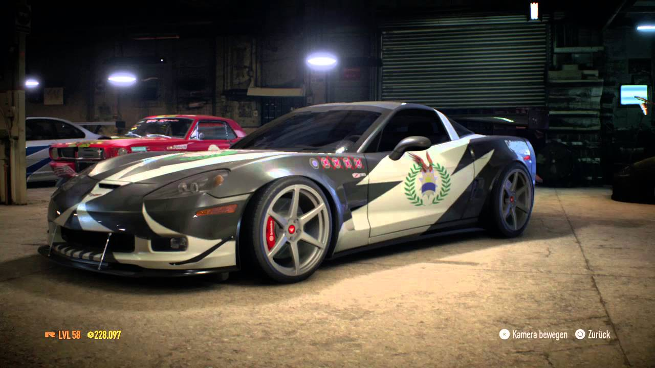 Need For Speed 2015 Sergeant Cross Corvette From Nfs