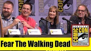 FEAR THE WALKING DEAD Producers | Comic-Con 2017 Panel (Greg Nicotero, Dave Erickson, Robert Kirkman