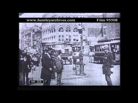 Herald Square, New York, 1908.  Archive film 95508