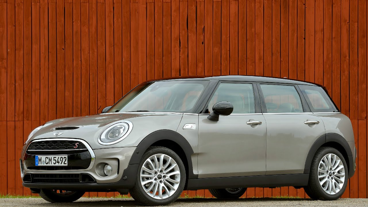 2016 Mini Cooper S Clubman Melting Silver Exterior Youtube