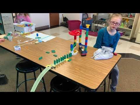 Meeteetse School Rube Goldberg Machines