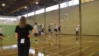University Of Canberra Capitals In Training For 2014!