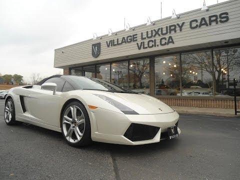 2007 Lamborghini Gallardo [Spyder] in review - Village Luxury Cars Toronto