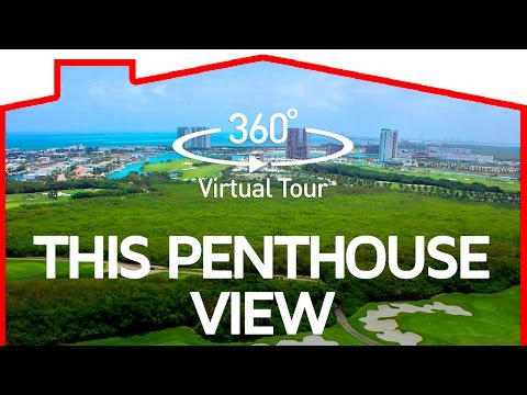 360° Cancun Towers Penthouse