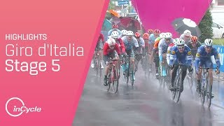 Giro d'Italia 2019 | Stage 5 Highlights | inCycle