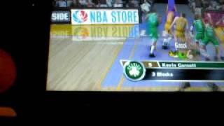 NBA 09 The Inside Demo PSP