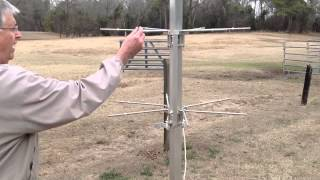 How To Install A Purple Martin Pole And Gourd Racks