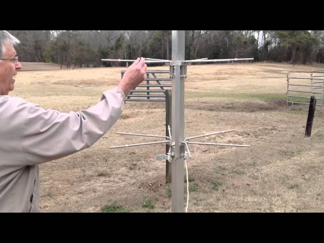 how to install a purple martin pole and