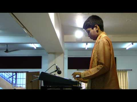 Shriank - Western Classical Music on Keyboard...Arya samaj, Bangalore