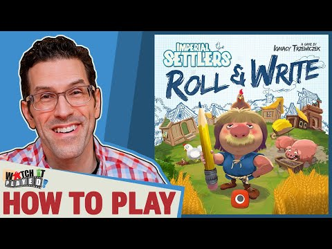 Imperial Settlers: Roll & Write - How To Play