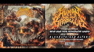 HUMAN BARBECUE - BLOODSTAINED ALTARS [OFFICIAL ALBUM STREAM] (2020) SW EXCLUSIVE