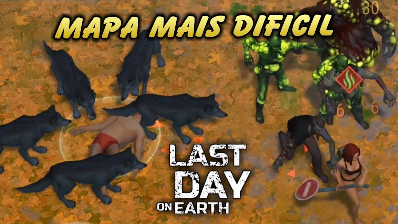 Mapa Mais Dificil Clareira De Carvalhos Last Day On Earth Youtube