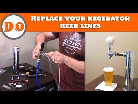 How to change beer lines in your kegerator