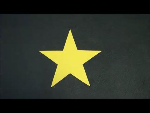 (ペーパークラフト)星の書き方【DIY】(Paper Craft) Writing Star