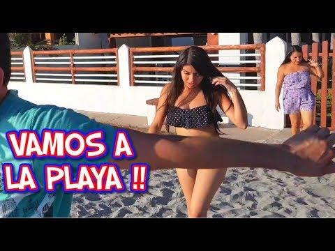 Mucho M3tió El Dedo !! | Live El Salvador En La Arena | Divertidos en La Playa |