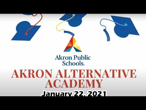 Akron Alternative Academy Graduation 01/22/2021