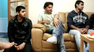 Munaf patel visit to friends house in London By:Farook saleh (Kothi)
