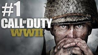 ЗАПИСЬ СТРИМА от 03.11.17 ► Call of Duty: WWII #1