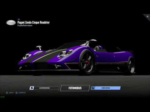 Projekt Cars 2 Sound Check 76 2010 Pagani Zonda Cinque Roadster