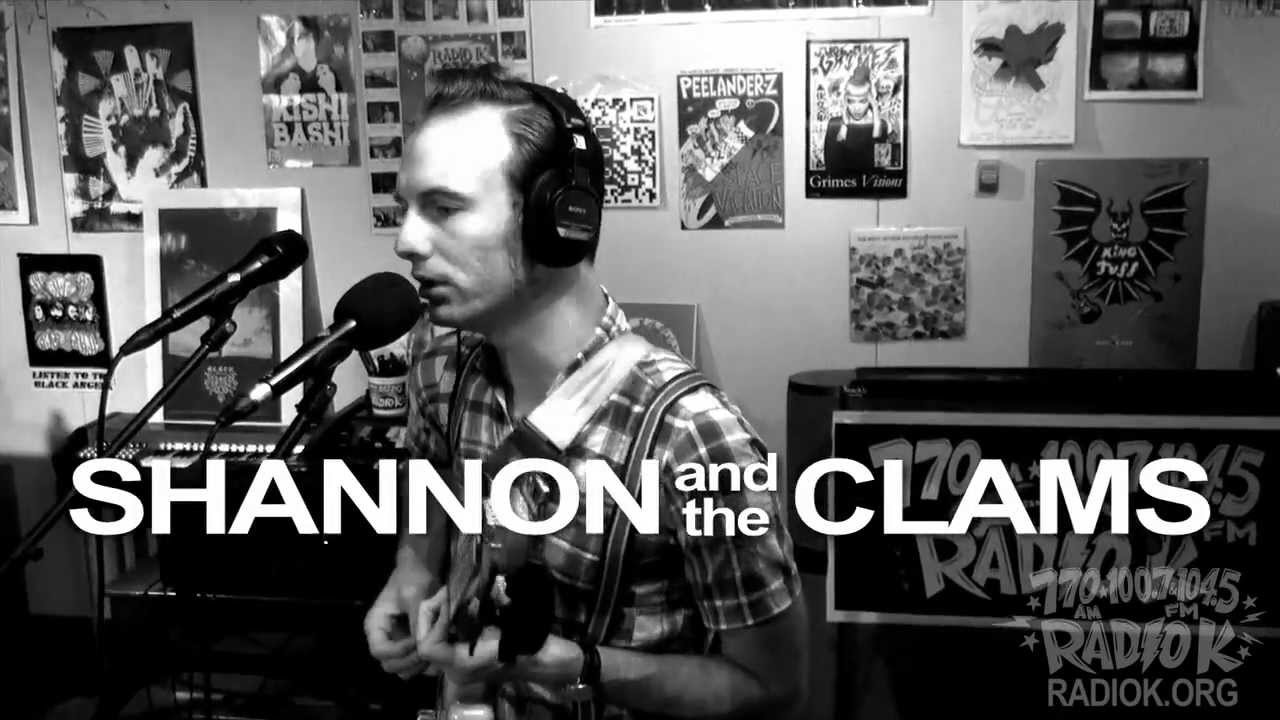 """Shannon and the Clams - """"Ozma"""" (Live on Radio K)"""