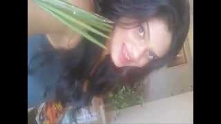 Hot Sexy Spicy Model Actress Akanksha Tank Exclusive Selfie Video Out