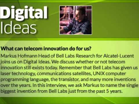 What Can Telecom Innovation Do For Us?