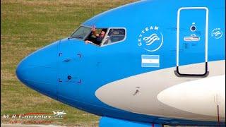 Ultimo vuelo del comandante Daniel Monzon AEP - 22/06/17