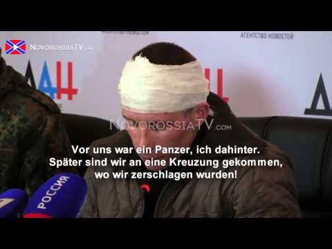 Pressekonferenz Alexander Zakharchenko: Kriegsgefangene • Kanonenfutter gesendet von Kiew