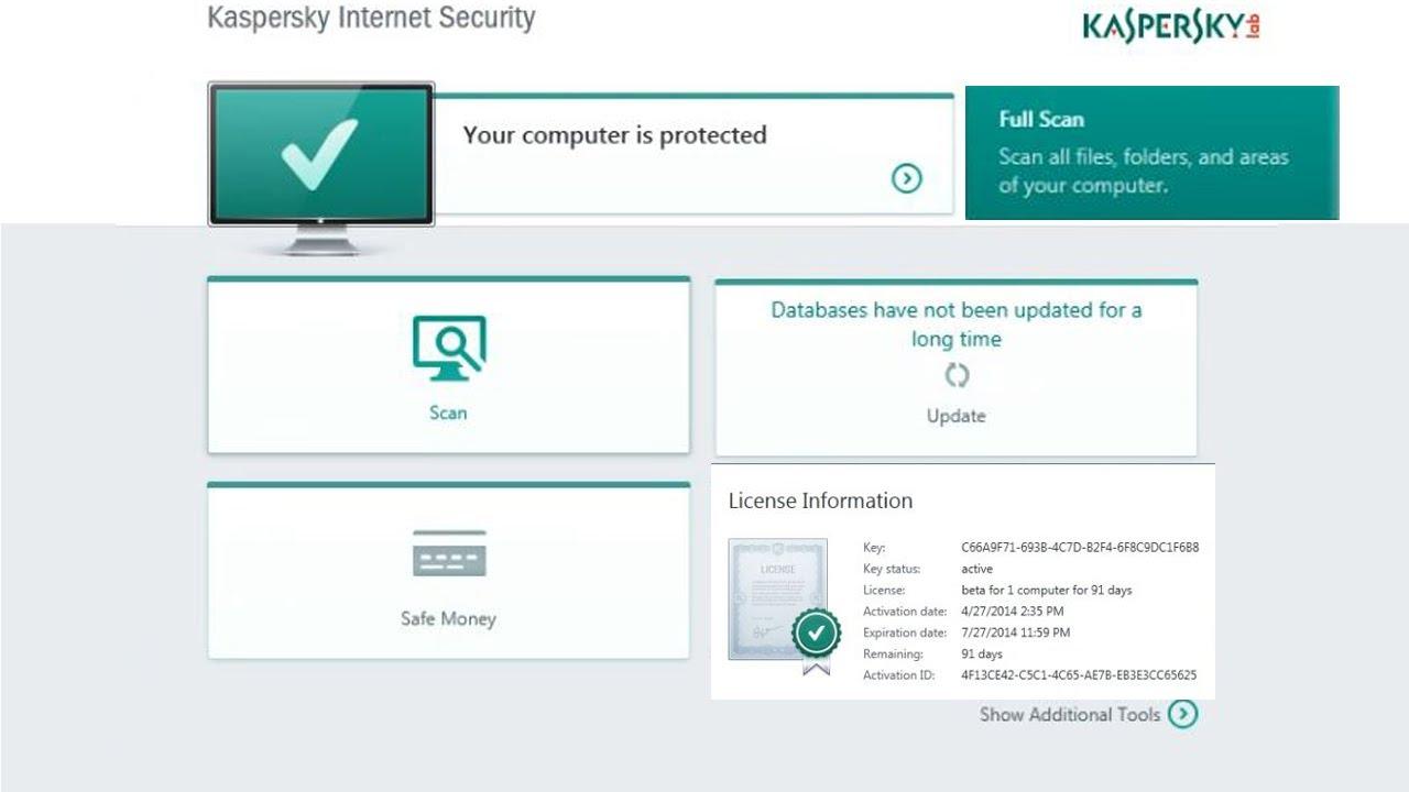 kaspersky internet security full