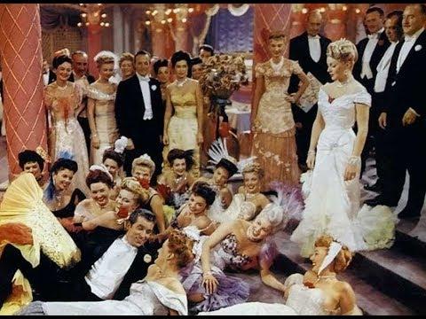 Lana Turner and Fernando Lamas in The Merry Widow  - 1952