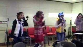110104 SISTAR - Baby Love (Nicole Scherzinger cover) @ Starry Night Radio