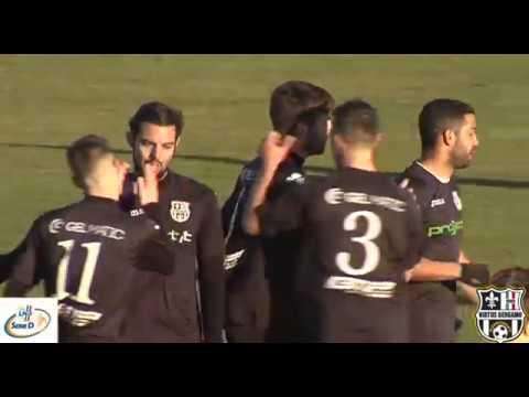 Ciliverghe-Virtus Bergamo 1909 1-2, 3° giornata di ritorno Serie D Girone B 2017/2018