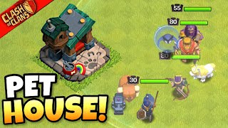 NEW PET HOUSE makes Heroes STRONGER THAN EVER! Clash of Clans | Spring 2021 Update